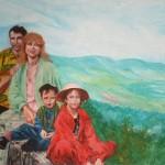 Peinture familliale